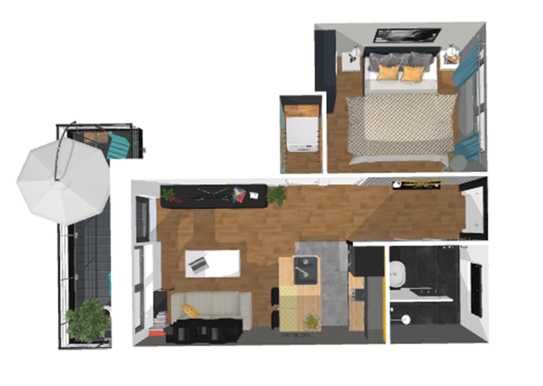 Plan d aménagement d'appartement